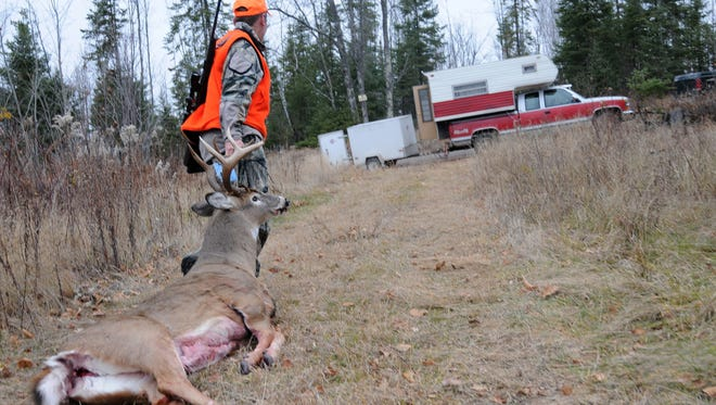 Steeply discounted deer hunting licenses for first-time hunters are not boosting license sales.