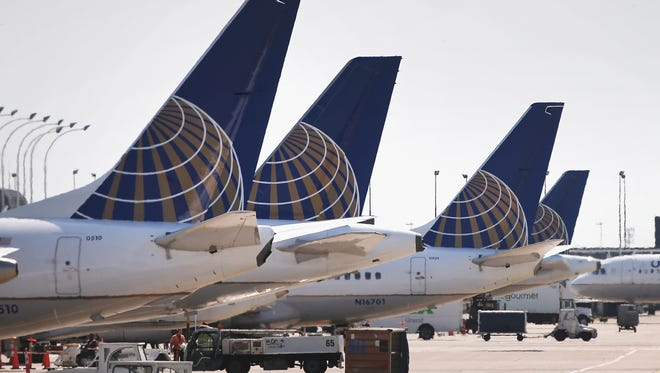 United Airlines' website shows nonstop flights from Springfield-Branson National Airport to Houston, Texas, starting in June.