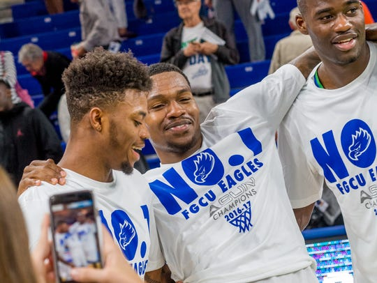 For the first time in his collegiate life, FGCU fourth-year