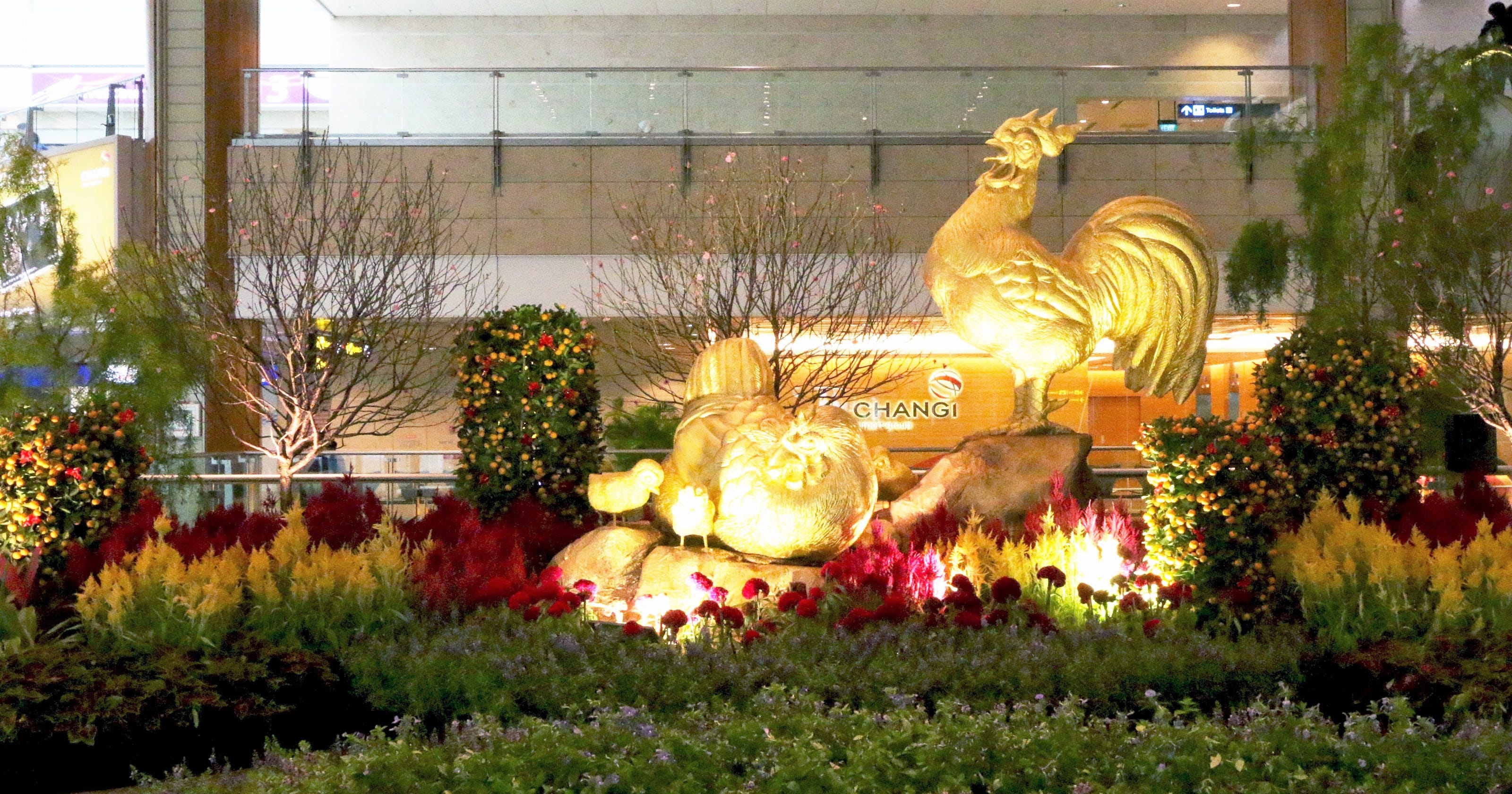 Airlines and airports celebrate Lunar New Year