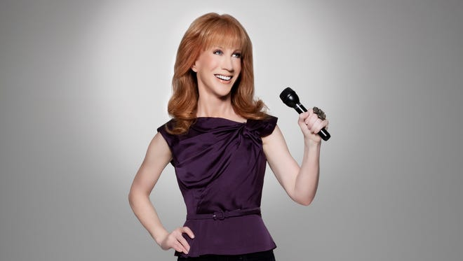 Comedian Kathy Griffin is an Emmy winner and a Grammy Award winner, too.