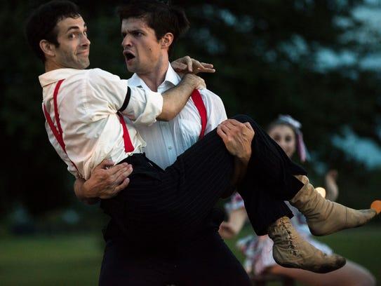 Members of the Montgomery Ballet and School of Dance