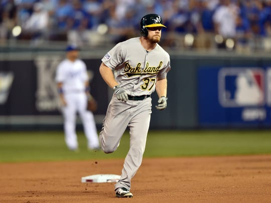 Brandon Moss was the Indians biggest offseason additions.