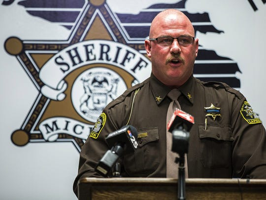 Lapeer County Sheriff Scott McKenna discusses a police