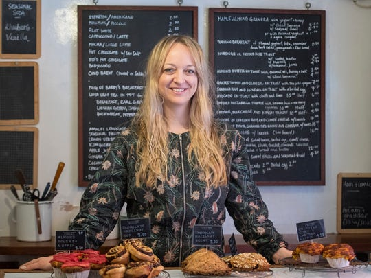 American pastry chef Claire Ptak, owner of Violet Bakery