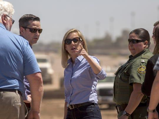 U.S. Department of Homeland Security Secretary Kirstjen