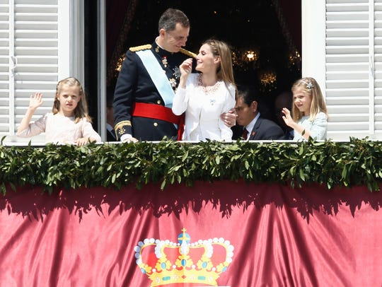 King Felipe VI of Spain, Queen Letizia of Spain and