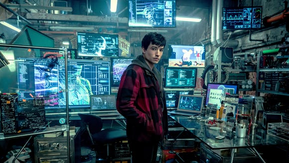 Ezra Miller's Flash flat in 'Justice League' is full