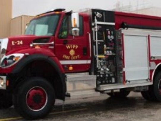 A new fire engine was purchased at the WIPP facility