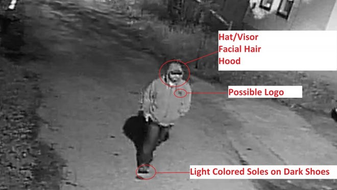 The FBI is looking for help finding this child kidnapping suspect seen in this security camera photo.