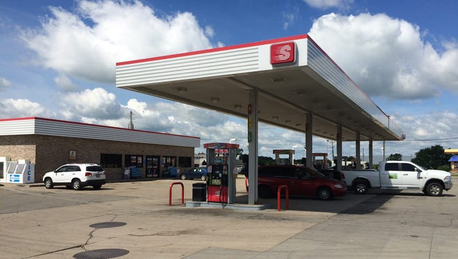 The winning ticket to Friday's $540 million Mega Millions jackpot was sold at the Speedway gas station on the southeast corner of the Indiana 1 and Interstate 70 interchange near Cambridge City.