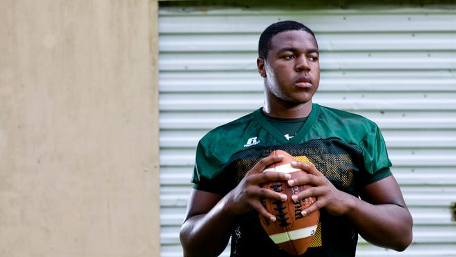 Clearview High School senior Sterling Sheffield wants to be the leader on the team, which is looking to bounce back from a 4-6 season.