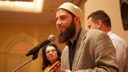 Hassan Shibly spoke at the Islamic Center of Tallahassee on battling the religious persecution and stereotyping Muslim-Americans face.