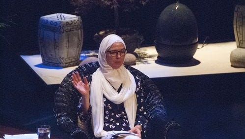 Dr. Ingrid Mattson shared her experiences as a Muslim woman in the United States during a discussion on Islamophobia at the Festival of Faiths