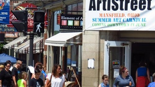 Last year's ArtiStreet summer art carnival drew 1,000 visitors. The event returns this weekend.