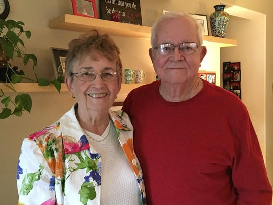 Lois and Kenneth Anderson have had Fiesta Bowl tickets