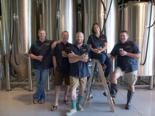 The Bone Hook Brewing Co. team includes co-founders
