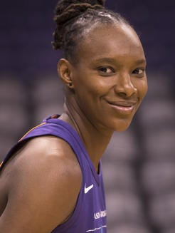 Sancho Lyttle made three WNBA Finals appearances with the Dream, was on the All-WNBA Defensive first or second team four times and was a 2009 All Star.