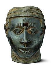 Artist/maker unknown, Edo (Benin Kingdom). Bronze,