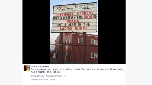 A post on U.S. Rep. David Schweikert's Facebook account.