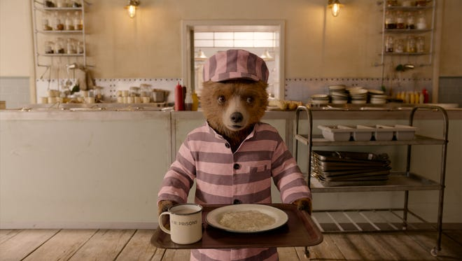 "A bear behind bars: Paddington returns in ""Paddington 2."""