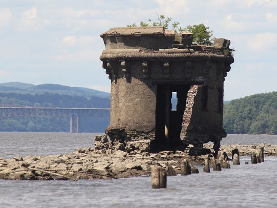 Margaret's Tower off of Pollepel Island, also known