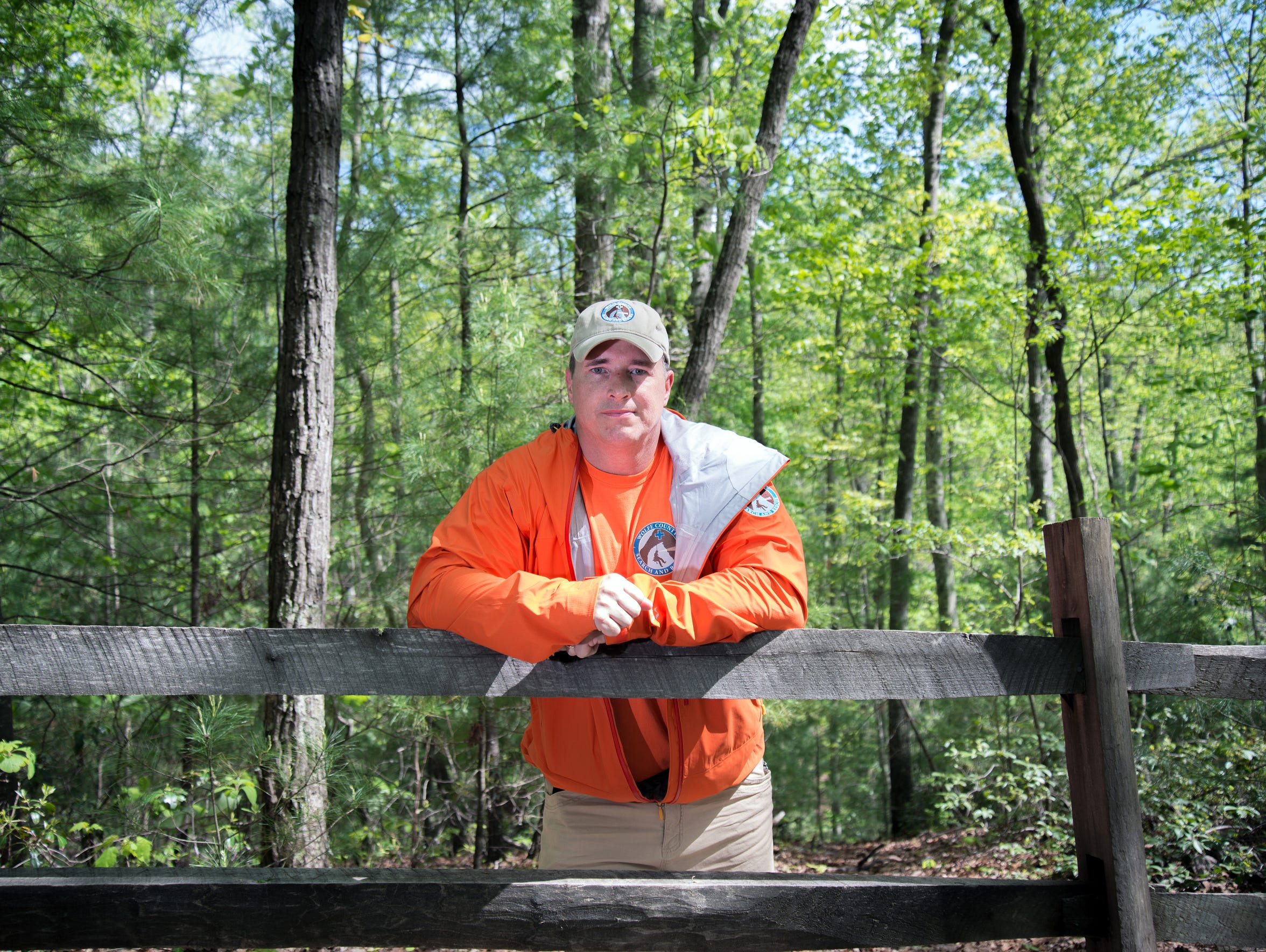 John May, deputy chief of the Wolfe County Search and