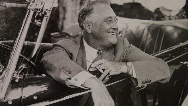 The man who gave the tiny western Monmouth County borough of Roosevelt its name. The town was born out of planned communities set up under Franklin D. Roosevelt's New Deal.