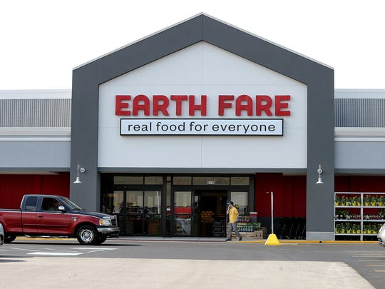 Earth Fare natural grocery store on the south side is set to open Wednesday July 16, 2014. They are located just north of the Greenwood Park Mall at 2110 E County Line Rd. Matt Kryger / The Star