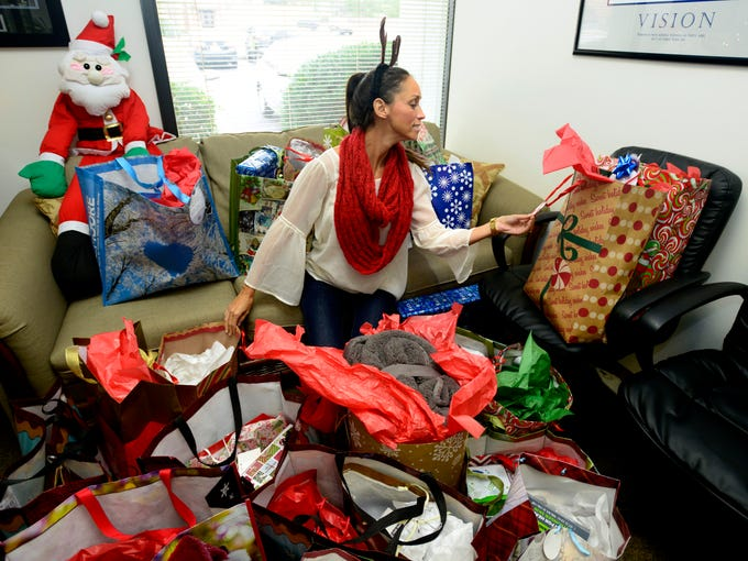 2000 christmas gifts donated and wrapped for senior citizens