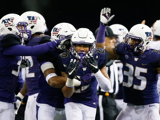 NCAA Football: Utah at Washington