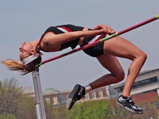 University of Cincinnati high jumper Loretta Blaut