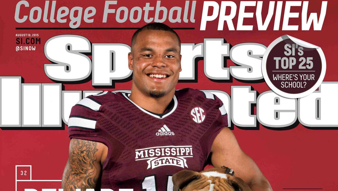 DAK PRESCOTT 2015 Sports Illustrated College Football Preview MISSISSIPPI STATE