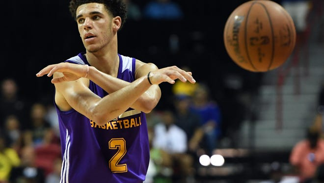 Lonzo Ball, the second pick in the draft, was the star of the NBA Summer League, earning MVP honors while leading the Lakers to the title in Las Vegas.