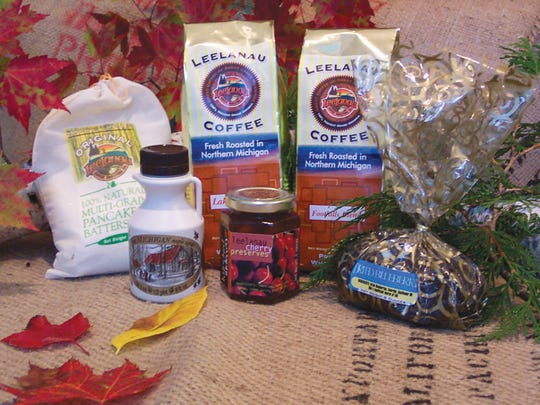 Holiday gift package from Leelanau Coffee Roasting