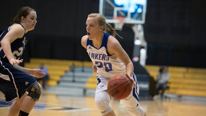 Grand Valley State's Janae Langs.