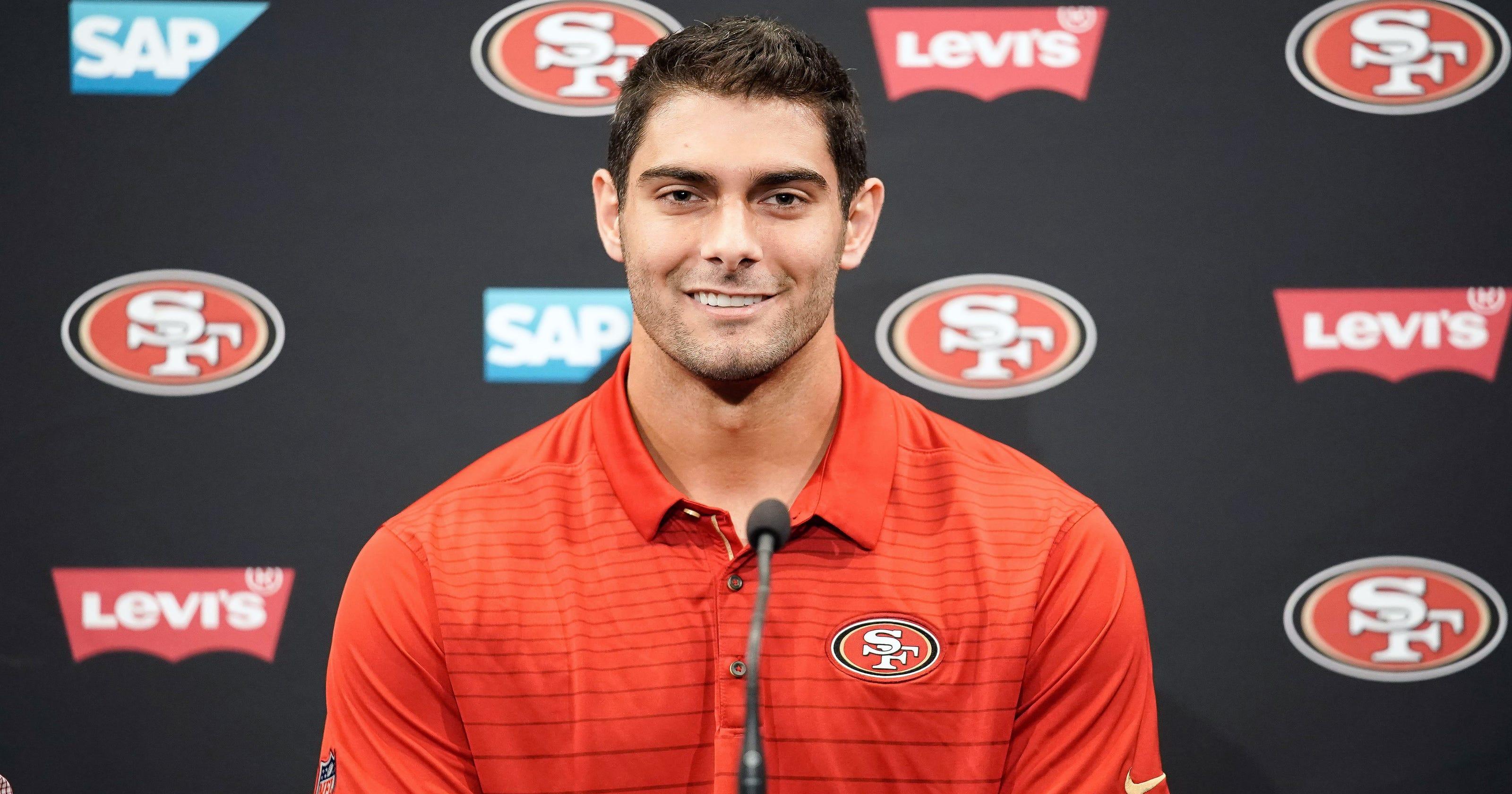 sf 49ers quarterback
