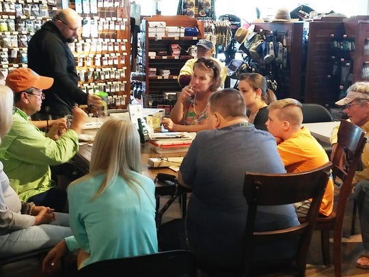 Bass Pro in Fort Myers is offering free fly tying and net casting classes on Wednesday.