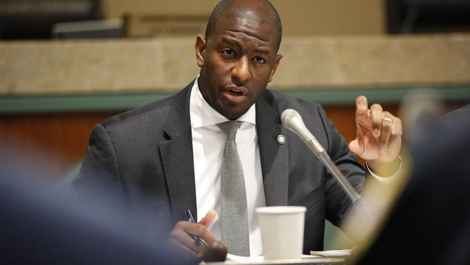 Mayor Andrew Gillum has pledged to cooperate with the FBI and says he's not focus of their probe.