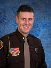 Lt. Marcus Anderson, patrol lieutenant for the Manitowoc County Sheriff's Department.