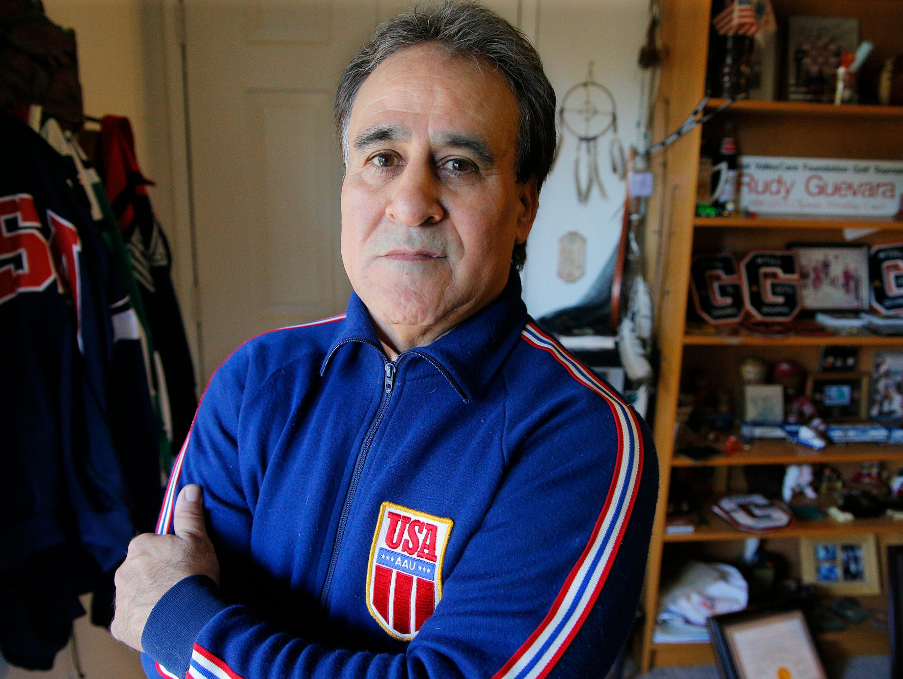 Rudy Guevara, who wrestled at Gonzeles High School and San Jose State University in the 1970s, recently received the Lifetime Service to Wrestling Award from the National Wrestling Hall of Fame. Guevara coached the Olympic Wrestling Team at the 1988 Summer Olympics.