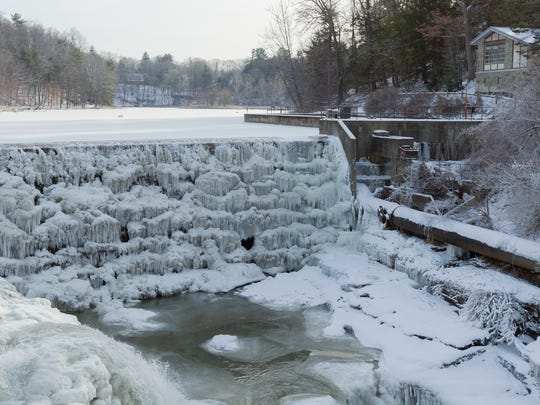 The Ithaca Fire Department rescued a 19-year-old man Friday morning from the right hand end of the base of the Beebe Lake dam.