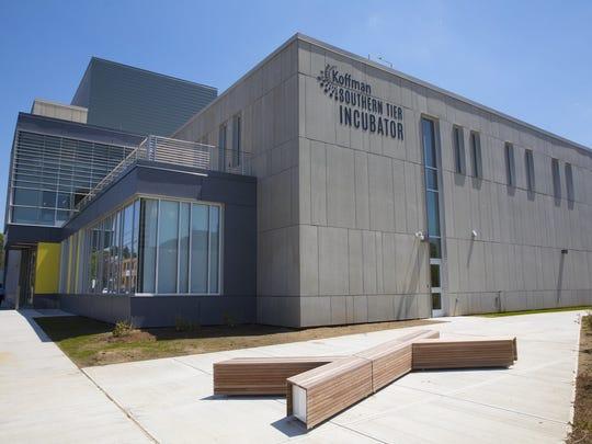 Binghamton Unversity unveiled its $19 million downtown