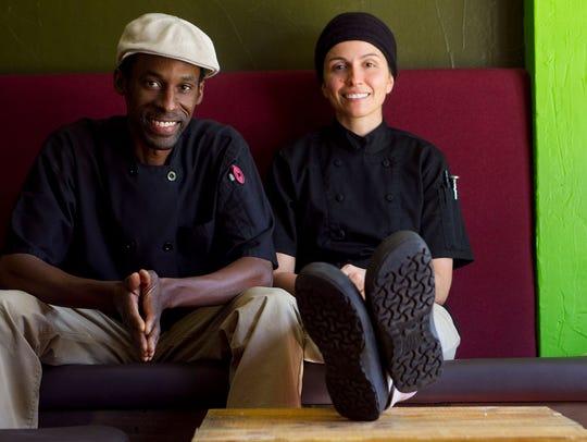 Dwayne Allen and Danielle Leoni of The Breadfruit &