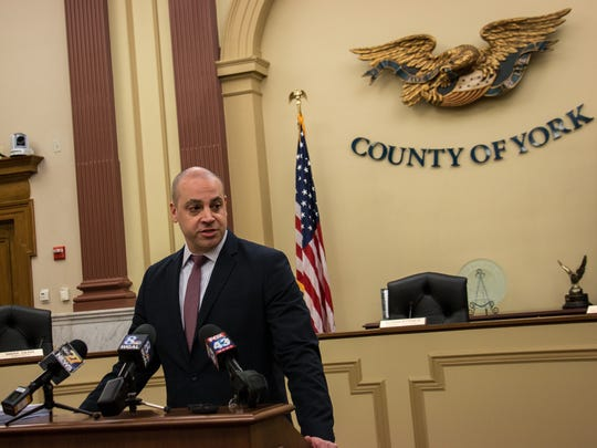 York County District Attorney Dave Sunday
