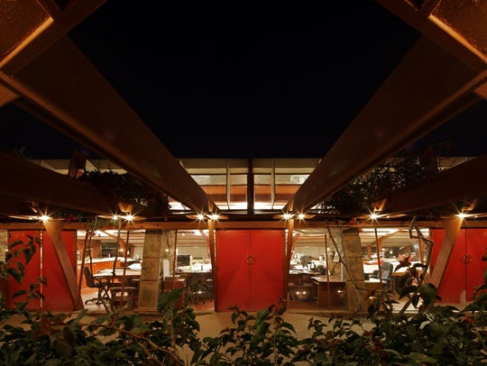 Taliesin West, Frank Lloyd Wright's desert laboratory in Scottsdale, is offering a summer discount through August. Arizona residents get50 percent off a tour.
