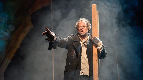 """Benjamin Evett as the Mariner in """"Albatross."""""""