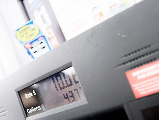 For Knoxville, the Jan. 1 average of $2.27 per gallon
