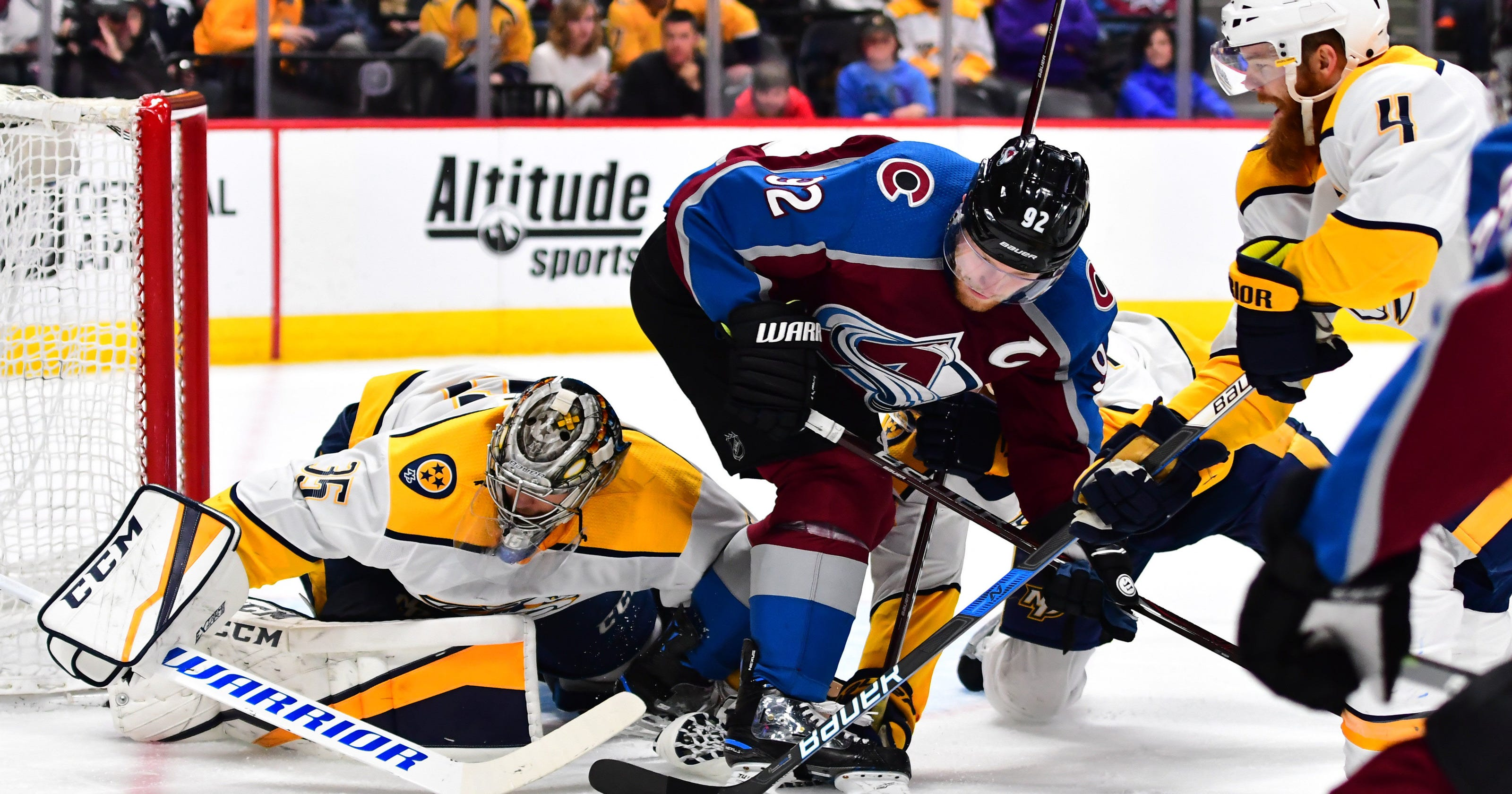Predators to play Colorado Avalanche in first round of Stanley Cup playoffs a901d655a