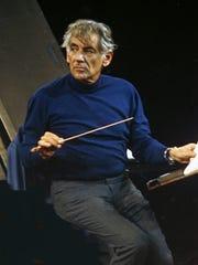 Leonard Bernstein in 1973